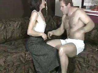 homemade sex episode from a mature floozy with