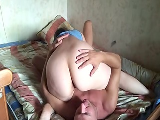 russian aged pair at home 5