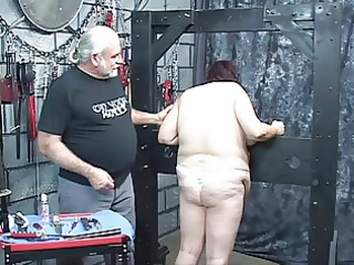 lad punishes perverted big beautiful woman in