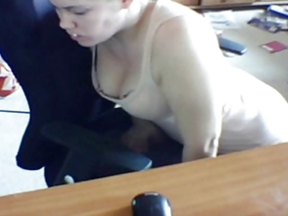 hidden livecam wife humping chair and self tape