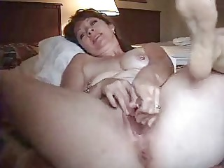 mature sex tool arse twat solo