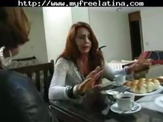 aged brazilian redheaded mama gets hammered by a