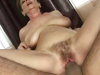 granny acquires her hairy love tunnel drilled