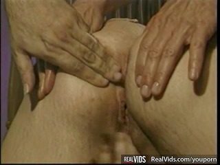 obese blond milf fucked by cocks