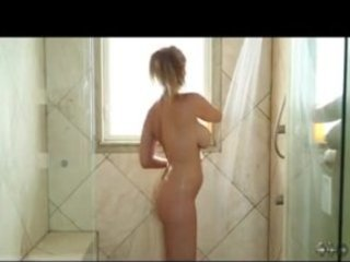 mother i star julia ann in shower rub down and