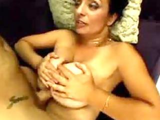hawt breasty milf getting tit drilled