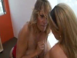 youthful angel seduced by mature lesbian