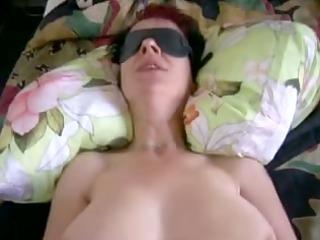 german mother i amateur eating cum