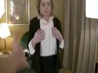 caught by the aged hotel manager with a hooker