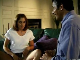 daughter tempted old daddy in absence of mommy