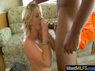 busty sexy milf ride biggest darksome mamba