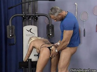 wicked blonde aged whore goes crazy part9