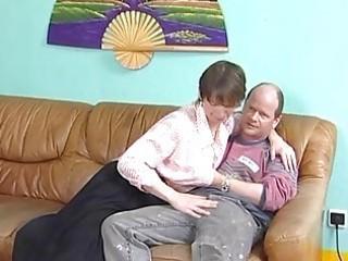 mature german widens her legs