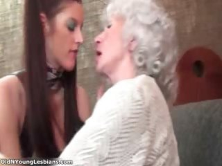 naughty aged lesbians acquire horny