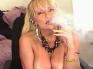 smoking fetish milf blond