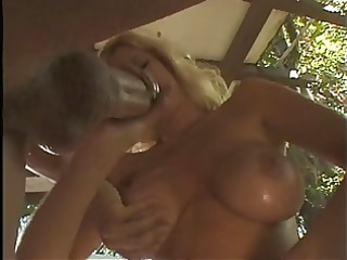 golden-haired chick loves to give handjobs