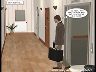 3d comic: sleepwalker