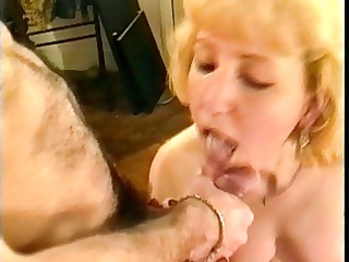french older takes 9 cumshots and facial in her