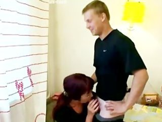 sexually excited mommy seduces sons friend