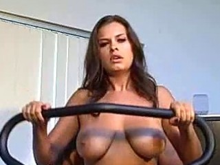 milf girlfriend with large milk cans acquires a