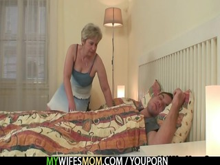 she copulates her son in law as he sleeps