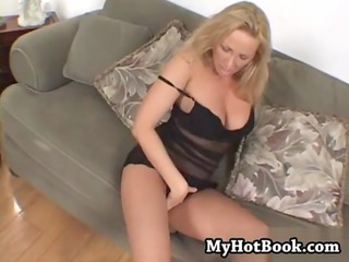 mandy bright is a lusty blonde milf who has always