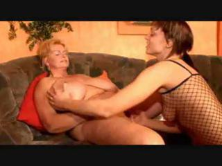 bbw lesbian granny and her girlfriend
