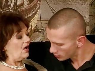 unattractive granny fucking