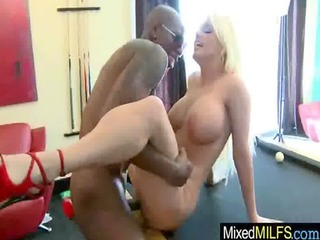 milf get concupiscent and ride a biggest darksome