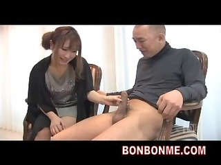 busty d like to fuck handjob to dilettante guy