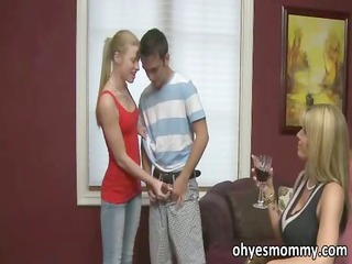 sexy and sexually excited stepmom says she can