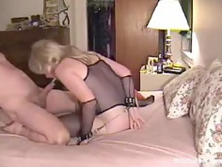 roped milf wife used as sex tool