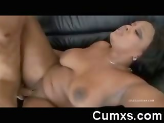 ghetto obese arse slut facial and booty shaking