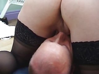 blonde d like to fuck in stockings fucks and