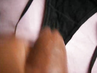 playing with wifes panty
