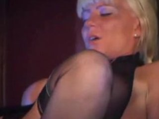 hot blond mother i in stockings bonks and sucks