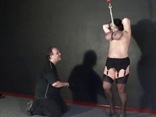 andreas tit hanging and bizarre mature bdsm