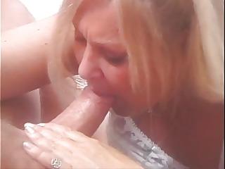 naughty granny samantha is extremely horny!
