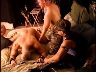 7 man cbt fuckfest with 5 young muscular guys and