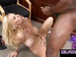 milf acquires all soaked for darksome guys