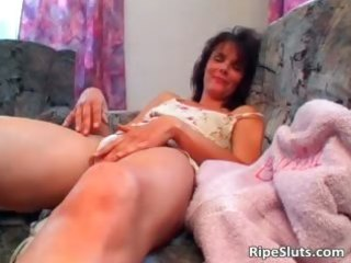 horny aged brunette receives juicy hairy part5