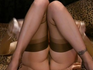 softcore milf masturbations with hotties in nylons