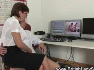 british mature floozy lady sonia handjob