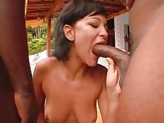 brazilian curvy anal orgy