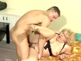 nasty granny drilled
