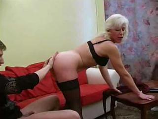 blonde russian mature fucks
